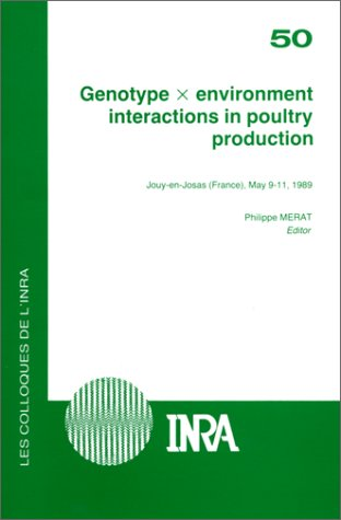 9782738001849: Genotype X Environment Interactions in Poultry Production