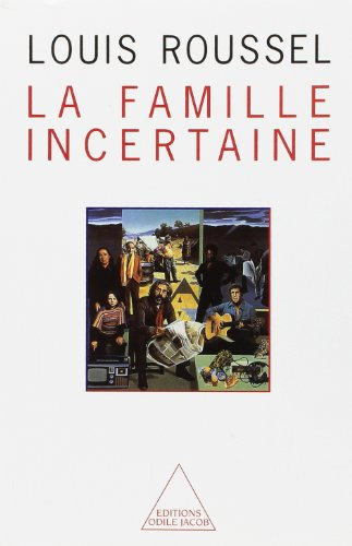 9782738100474: Famille incertaine