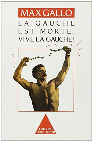 9782738101075: La gauche est morte: Vive la gauche! (French Edition)