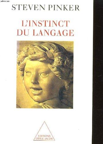 9782738106667: L'instinct du langage