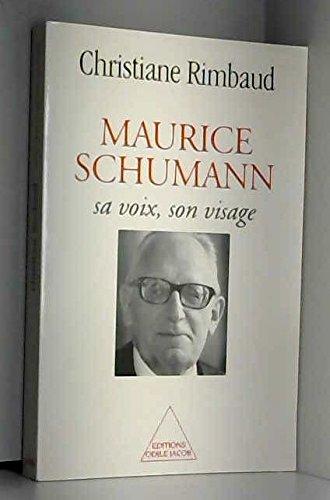 9782738107633: Maurice Schumann