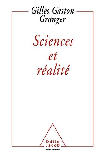9782738109231: Sciences et réalité