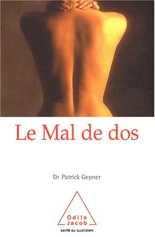 MAL DE DOS (LE): GEPNER PATRICK