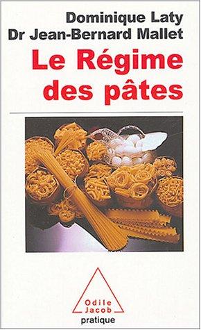 9782738114730: Le régime des pâtes