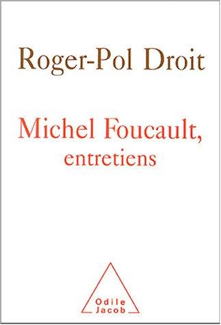 9782738115676: Michel Foucault, entretiens