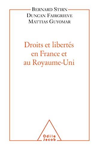 9782738117083: Droits et libert�s en France et au Royaume-uni