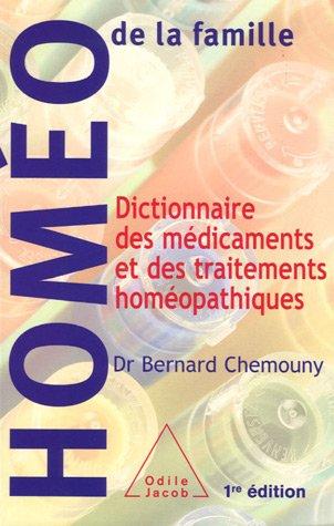 9782738118646: Dictionnaire des médicaments et des traitements homéopathiques