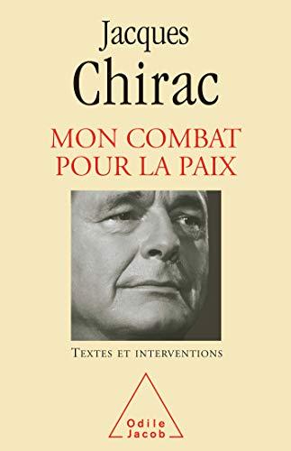 9782738119858: Mon combat pour la paix (French Edition)