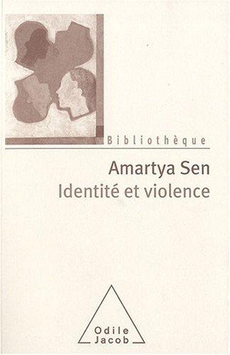 9782738124647: Identité et violence