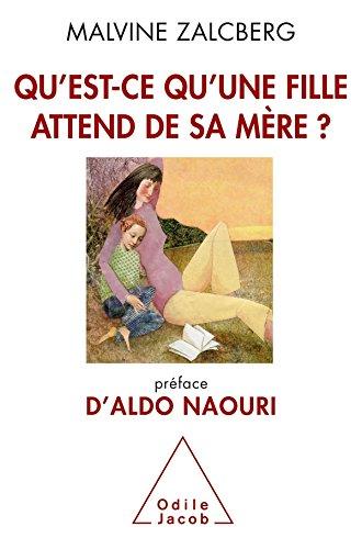 9782738124838: Qu'est-ce qu'une fille attend de sa mère ?: Préface d'Aldo Naouri