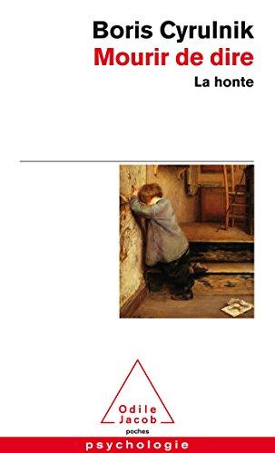 9782738128263: Mourir de dire: La honte (OJ.PSYCHOLOGIE)