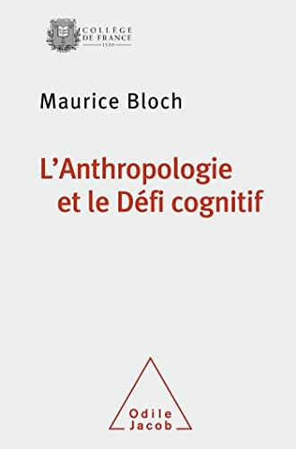 9782738130556: L'Anthropologie et le Défi cognitif