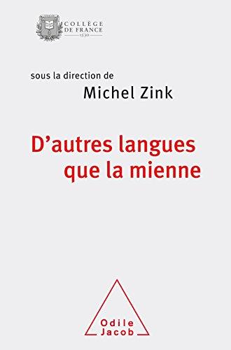 9782738131140: D'Autres langues que la mienne