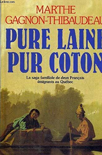 9782738207913: Pure laine pur coton