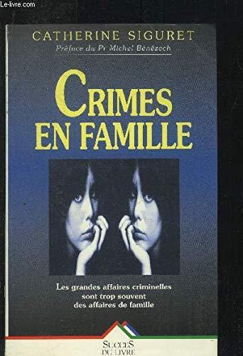 9782738210777: Crimes en famille