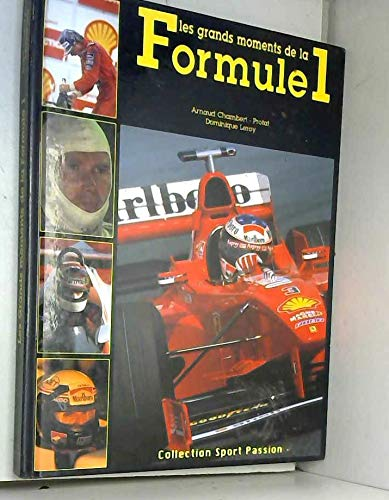 9782738213211: Les grands moments de la formule 1