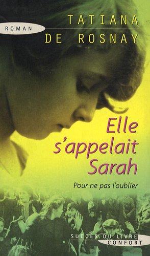 9782738223395: Elle s'appelait Sarah (Confort)