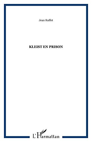 9782738409348: Kleist en prison
