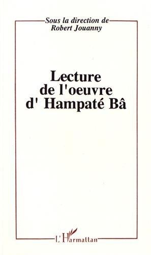 9782738416001: Lectures de l'oeuvre d'Hampat� B�