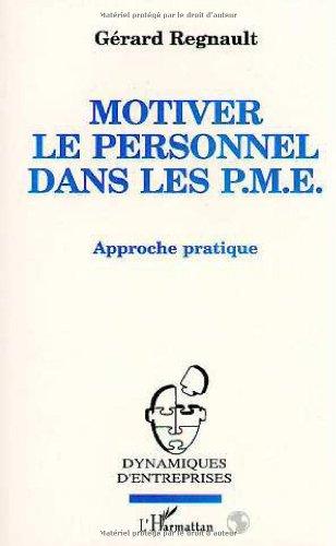 9782738418364: Motiver le personnel dans les P.M.E.