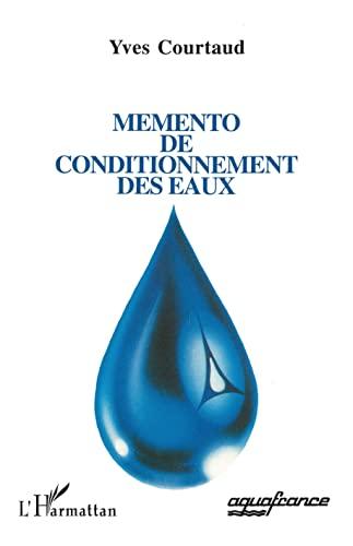 9782738420008: Mémento de conditionnement des eaux