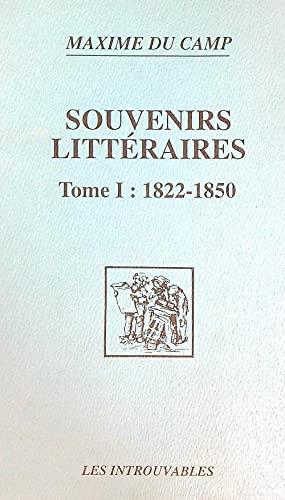 9782738420114: Souvenirs littéraires t. 1