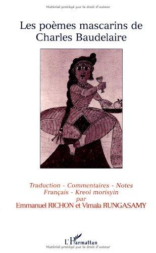 Les Poà mes mascarins de Charles Baudelaire: Baudelaire, Charles
