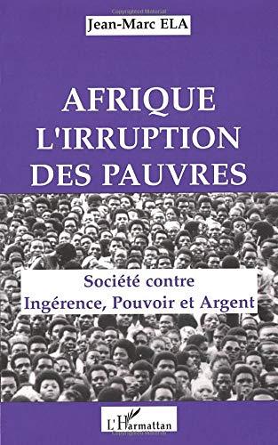 9782738423481: Afrique, l'irruption des pauvres
