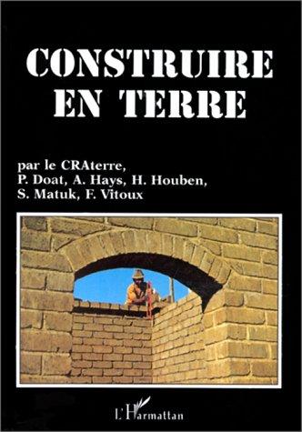 9782738433701: Construire en terre (French Edition)