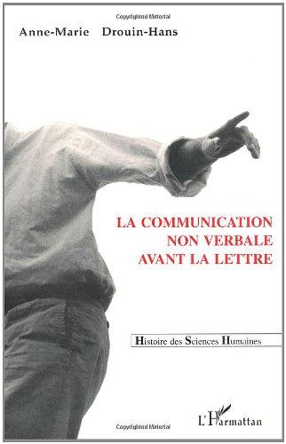 9782738435156: La communication non verbale avant la lettre