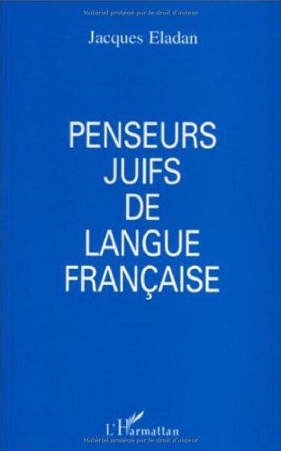 9782738435972: Penseurs juifs de langue française