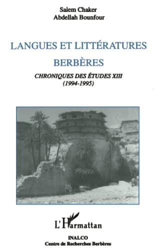 9782738442178: Langue et litt�rature berb�res