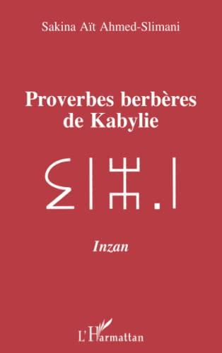 9782738443496: Proverbes berbères de Kabylie