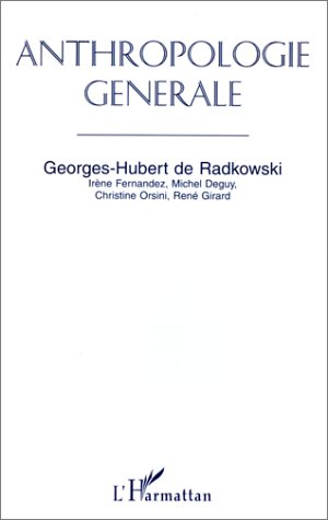 9782738444561: Anthropologie générale (French Edition)
