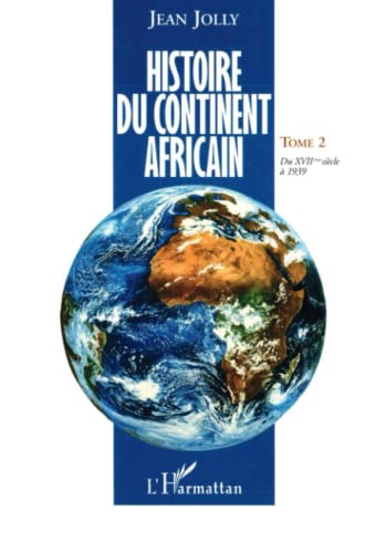 9782738446893: Histoire du continent africain, tome 2