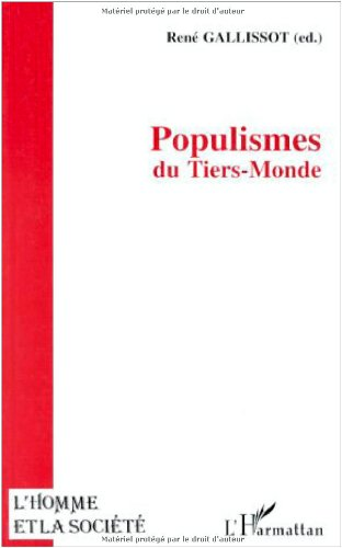 POPULISMES DU TIERS-MONDE - GALLISSOT RENE