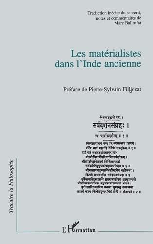 9782738456441: Les Matérialistes dans l'Inde ancienne