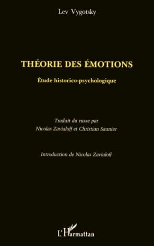 9782738461353: Théorie des émotions: étude historico-psychologique