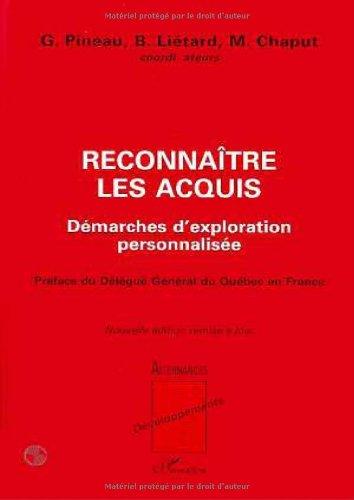 9782738461513: Reconnaitre les acquis (French Edition)