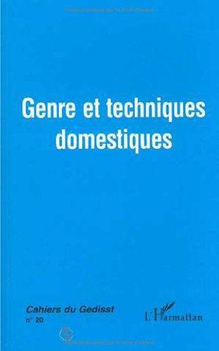9782738463463: Genre et techniques domestiques