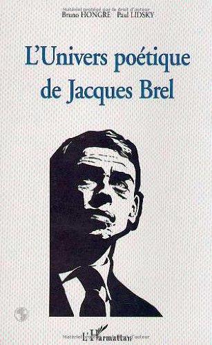 9782738467454: L'univers poétique de Jacques Brel (French Edition)