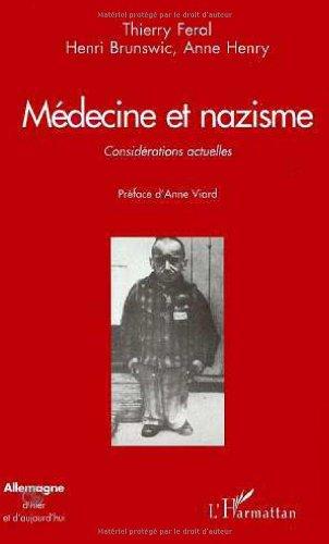 9782738470089: Médecine et nazisme: Considérations actuelles (Collection Allemagne d'hier et d'aujourd'hui) (French Edition)