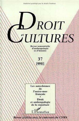 9782738475282: Droit et culture 37. : Les Autochtnones de l'outre-mer français