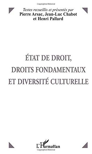 9782738481139: ETAT DE DROIT, DROITS FONDAMENTAUX ET DIVERSITE CULTURELLE (French Edition)