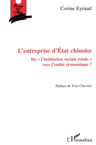9782738482648: Entreprise d'etat chinoise de l'institution sociale to (French Edition)
