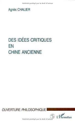 9782738484079: Des idées critiques en Chine ancienne