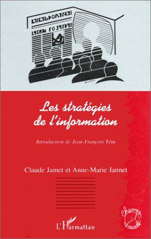 9782738484482: Strategies de l'information(les) (French Edition)