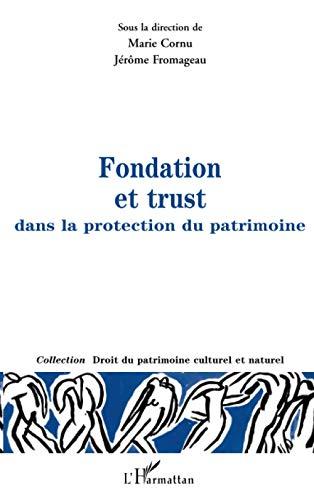 9782738487186: Fondation et trust dans la protection du patrimoine