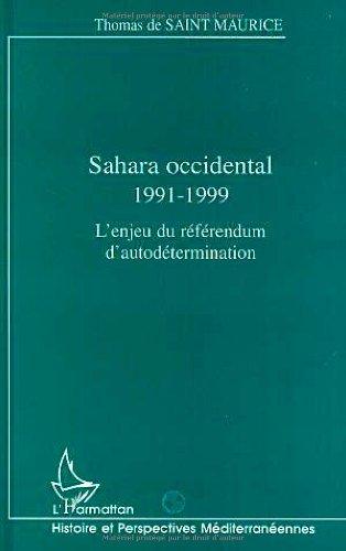 9782738489135: Sahara Occidental, 1991-1999: l'enjeu du référendum d'autodétermination