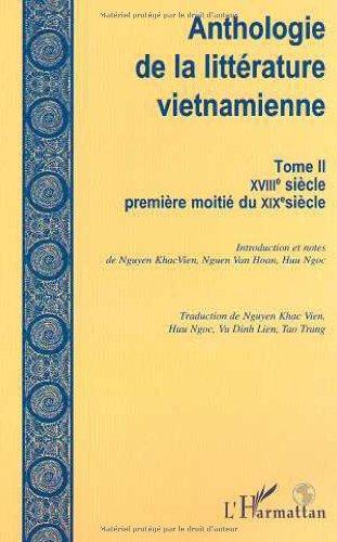 9782738497888: Antholoie de la litterature vietnamienne. tome 2 xviiie siecle premiere moite du XIX siecle l'argent